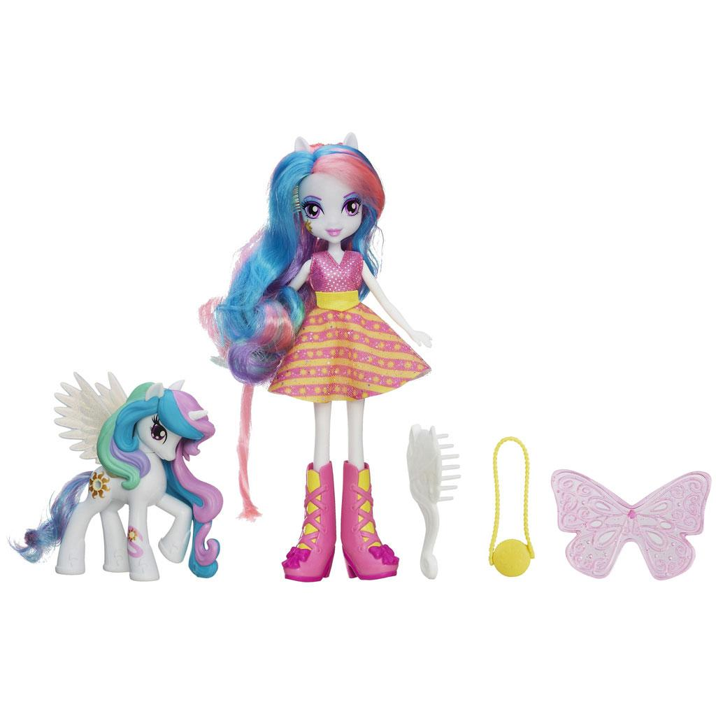 Amazon My Little Pony Equestria Girls Celestia Doll And