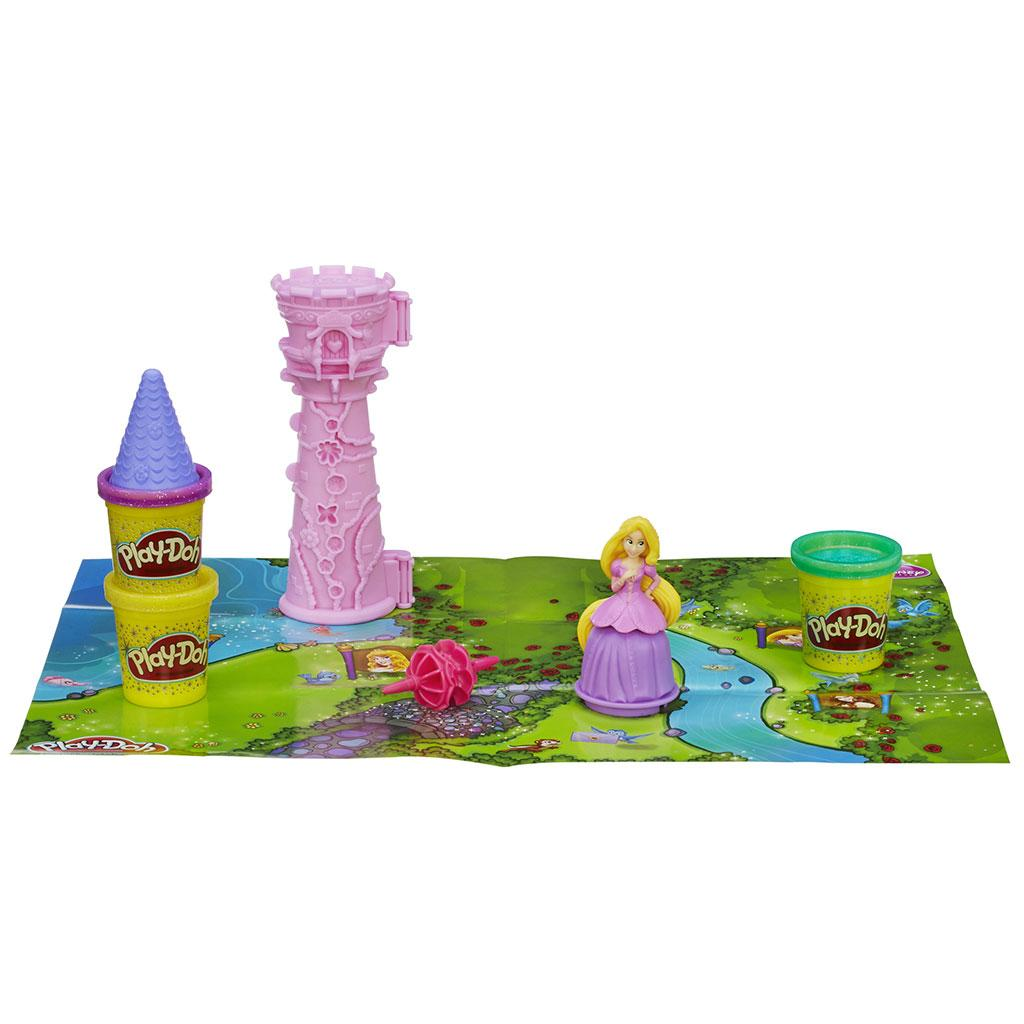 Amazon Com Play Doh Disney Princess Rapunzel S Tower