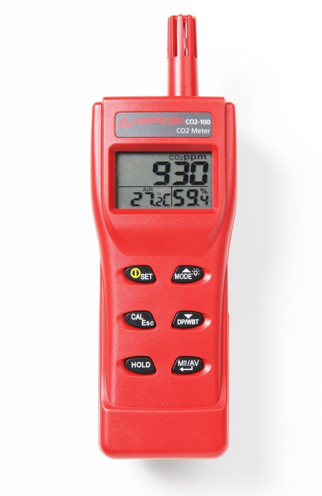 Amprobe Co2 100 Handheld Carbon Dioxide Meter Amazon Com