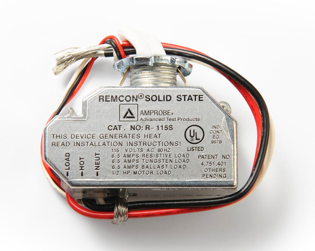 Amprobe RS Remcon Relay Switch Automotive Electrical System - Switching voltage in relay