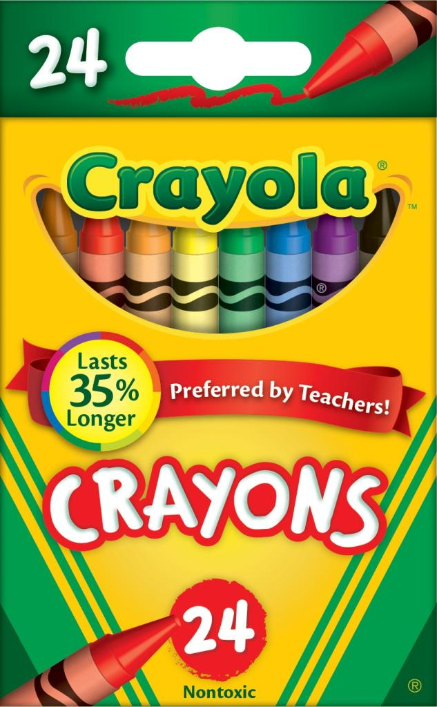 view larger - Crayola Crayons Pictures