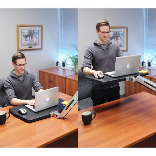 Amazon Com Ergotron Workfit P Sit Stand Workstation 24