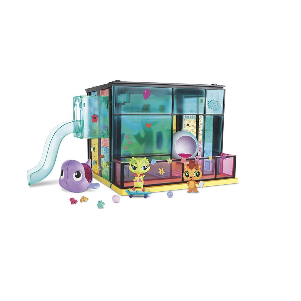 amazon com littlest pet shop getting glamorous pet styling pack