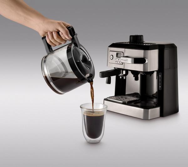 K Cup And Drip Coffee Maker Combo : Amazon.com: DeLonghi BC0330T Combination Drip Coffee and Espresso Machine: Combination Coffee ...