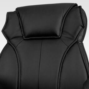 contemporary leather high office chair black. leather office chair contoured contemporary design high black p