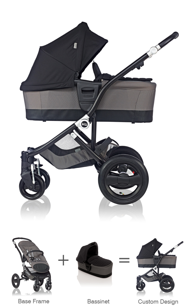 Amazon.com: Britax B-Ready Stroller Bassinet, Black (Prior Model ...