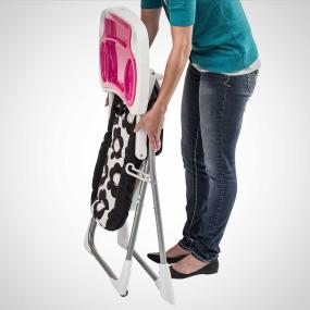 Great For Small Places   Compact Fold High Chair Is Easy To Store In  Smaller Places. Stands When Fol