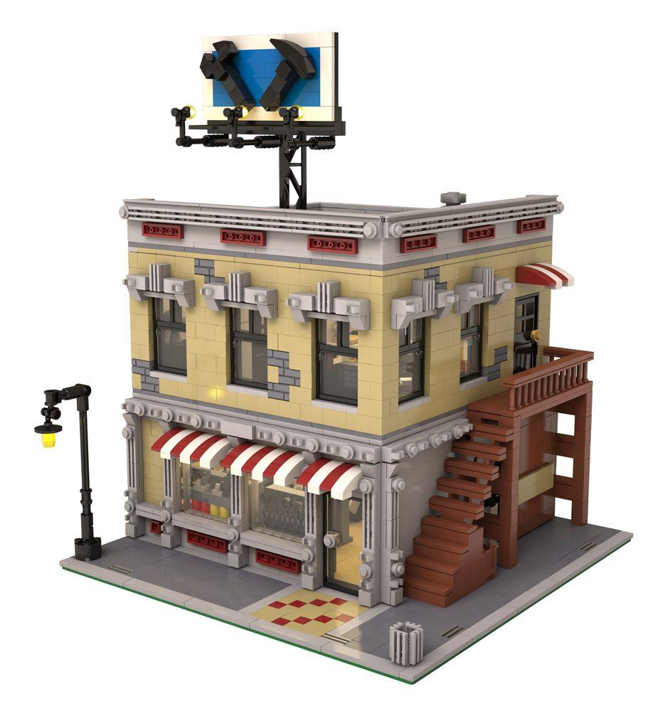 The lego neighborhood book: build your own town! [download].