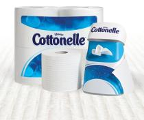 Cottonelle Fresh Care Flushable Cleansing Cloths contain aloe and vitamin E so they are gentle on se