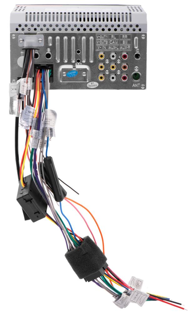 vendorimagesDD660_REAR 1800._CB346605810_ amazon com ssl dd660 in dash double din 6 2 inch touchscreen dvd ssl dd888 wiring harness at fashall.co