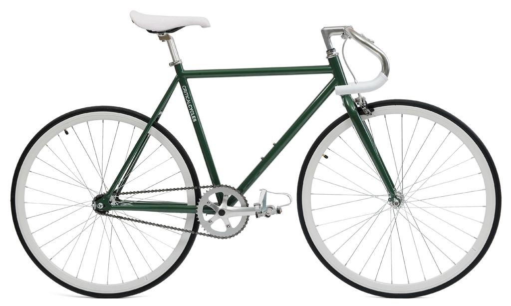 Amazon.com : Critical Cycles Classic Fixed-Gear Single-Speed Bike ...