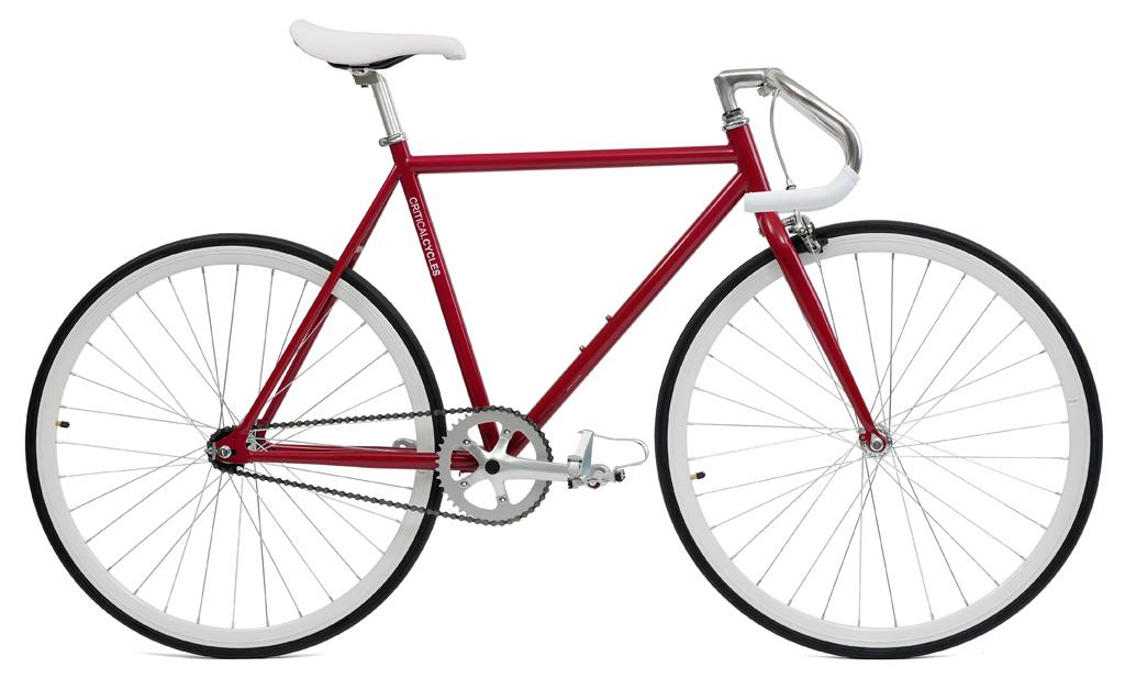 Critical Cycles Classic Fixed Gear Single Speed Bike