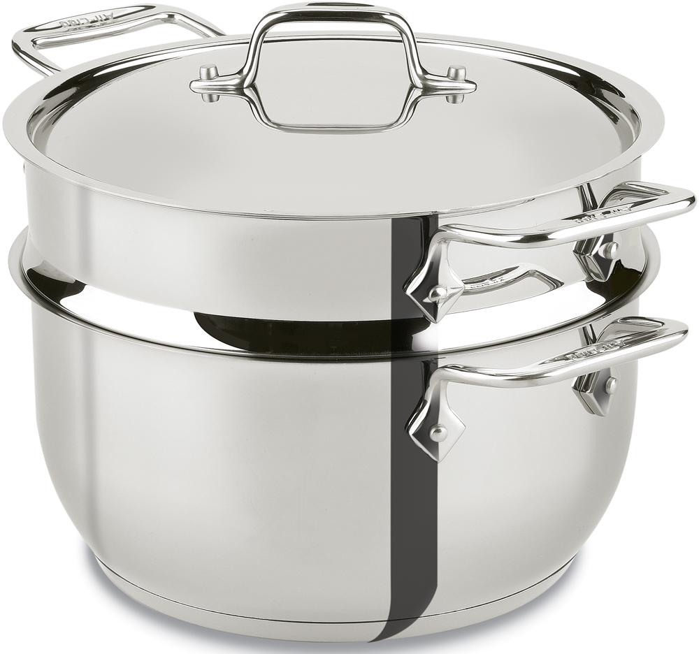 Cooking Pot Steamer ~ Amazon all clad e s stainless steel steamer