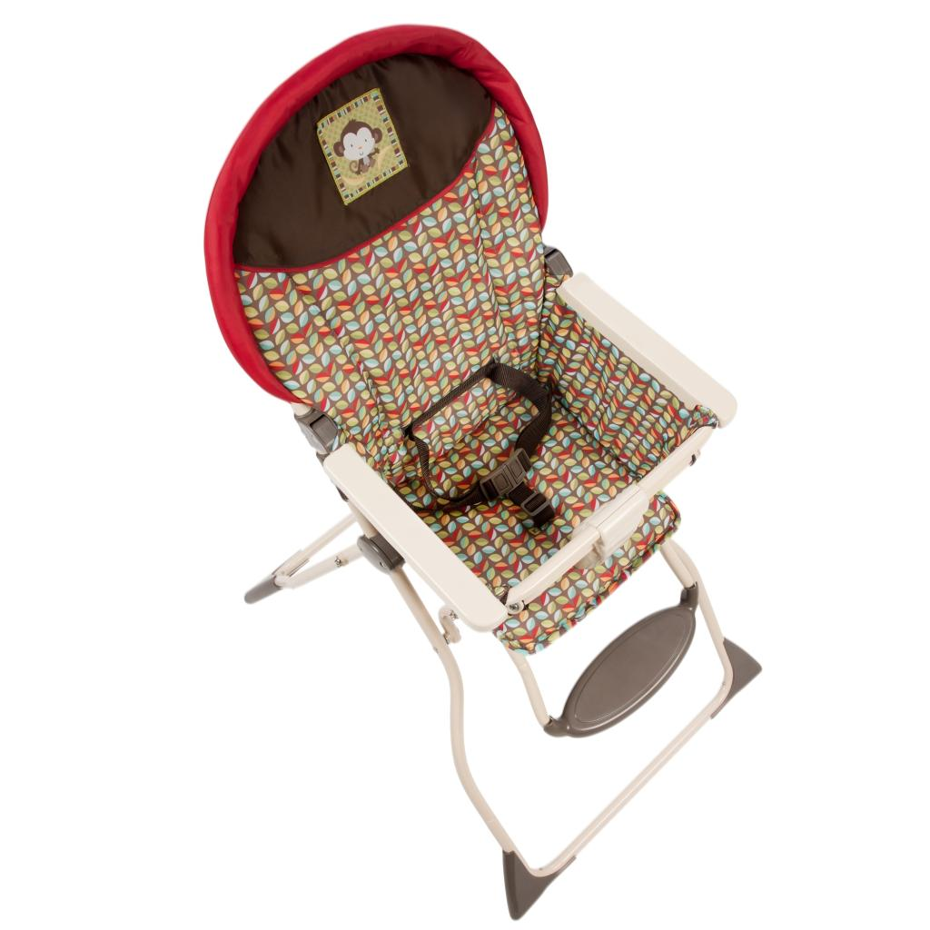 Amazon Com Cosco Slim Fold High Chair Kanzi Childrens