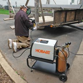 hobart 500554 handler 190 wire feed welder power welders. Black Bedroom Furniture Sets. Home Design Ideas
