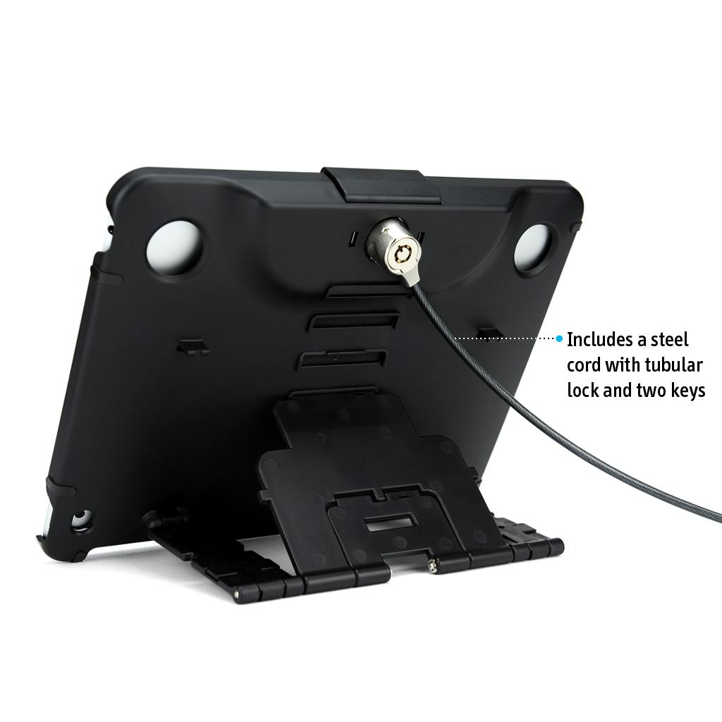 Amazon.com: Ipevo iPad Security Case with Lock and Stand for iPad Air