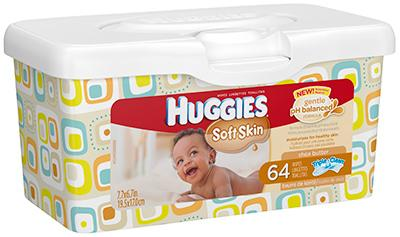 Amazon Com Huggies Soft Skin Baby Wipes Shea Butter