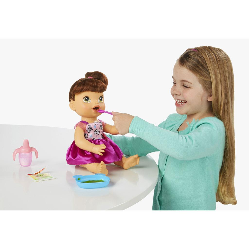 Amazon Com Baby Alive My Baby All Gone Doll Brunette