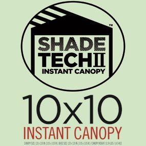 Amazon Com Shade Tech Ii St100 10 X10 Instant Canopy