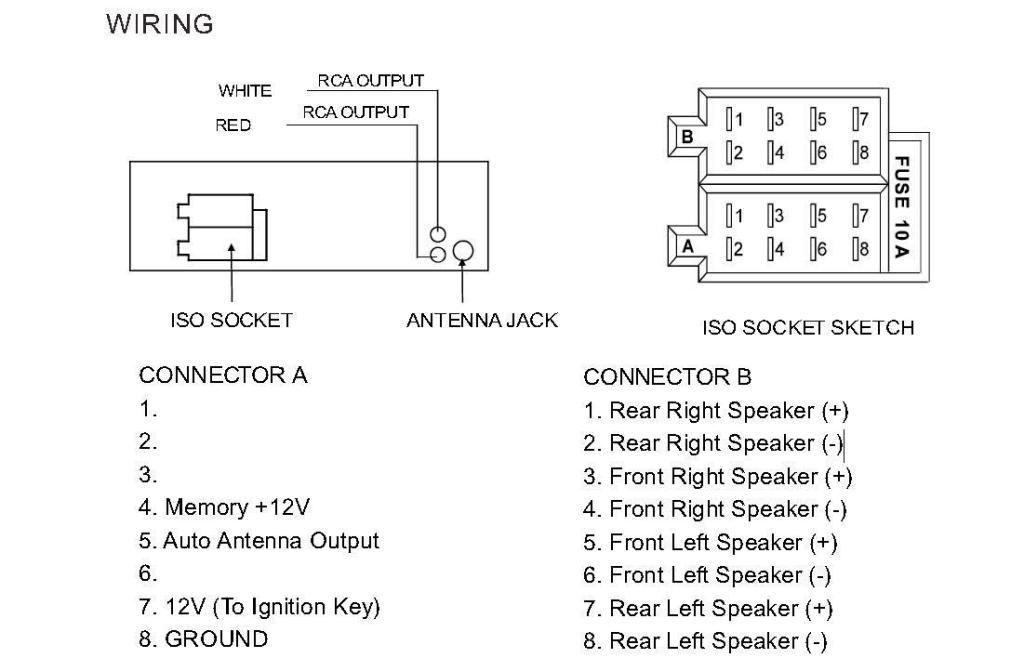 boss 508uab wiring diagram   26 wiring diagram images