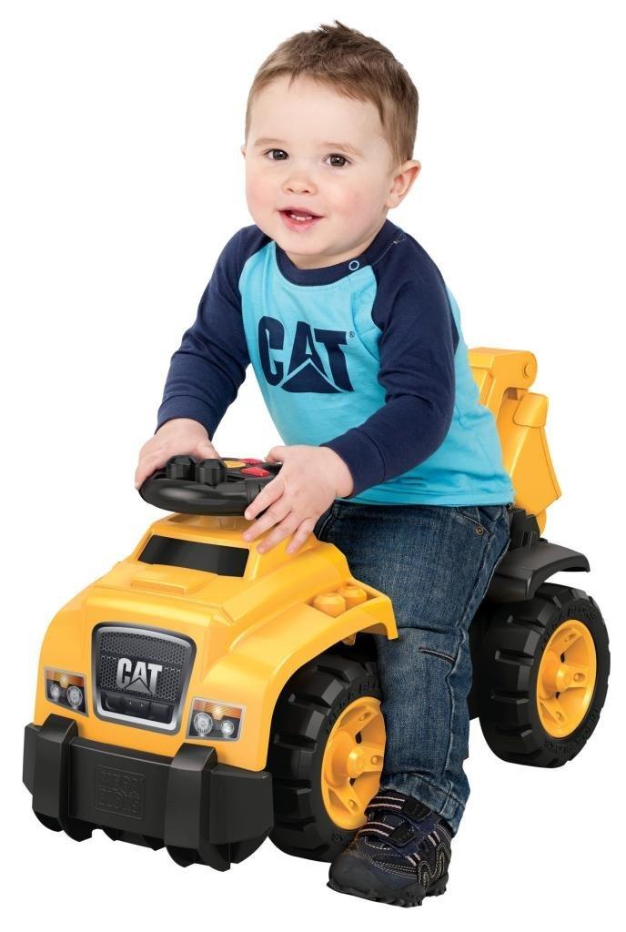 Caterpillar Riding Toys For Boys : Amazon mega bloks ride on caterpillar with excavator