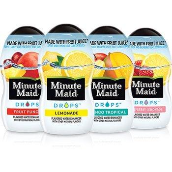 Minute Maid DROPS Fruit Punch, 6 ct, 1 9 FL OZ Bottle