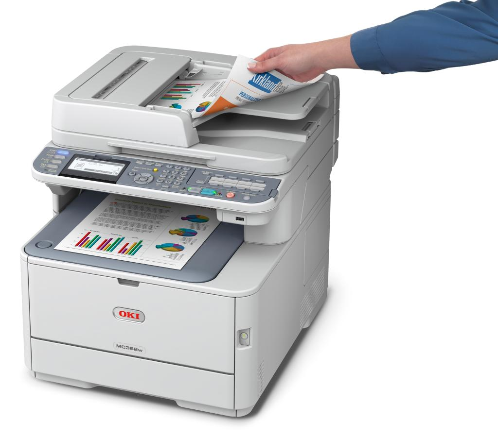 Color printer wireless - Mc362w Color Mfp With Wireless Printing Capability