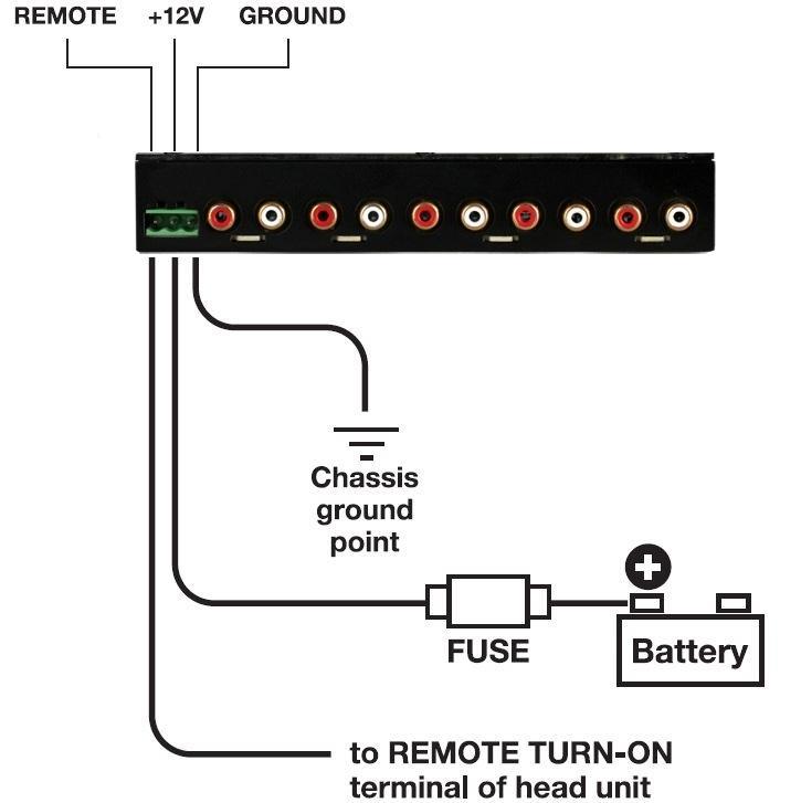 Amazon Com Sound Storm S4eq 4 Band Pre Amp Car Equalizer