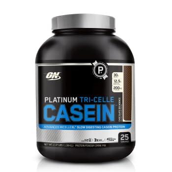 Amazon Com Optimum Nutrition Platinum Tri Celle Casein