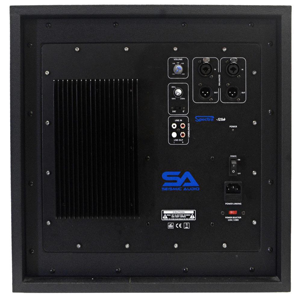Amazon.com: Seismic Audio Spectra-12SUB Active 12-Inch