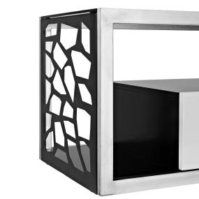 60 inch modern mosaic tv stand