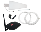 zBoost TRIO SOHO Xtreme cell phone signal booster for Verizon 4G LTE