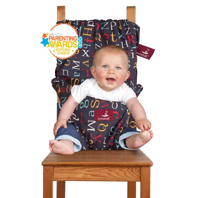 Totseat chair harness the original washable for Chaise nomade baby to love