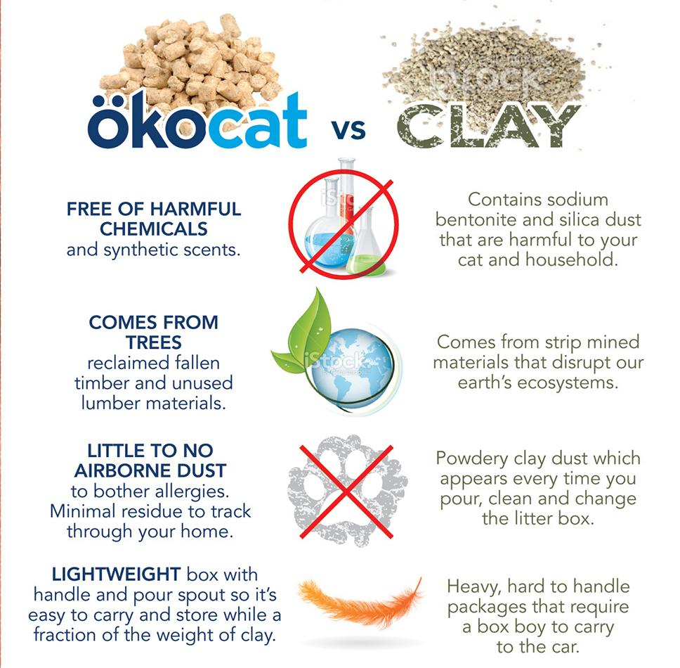 View larger  sc 1 st  Amazon.com & Amazon.com : ökocat Natural Wood Cat Litter 8.4-Pound Clumping ... Aboutintivar.Com