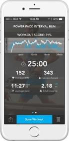 Pear Sports Mobile Training Intelligence System for iPhone 4S, iPhone 5, iPhone 5S and iPhone 5C