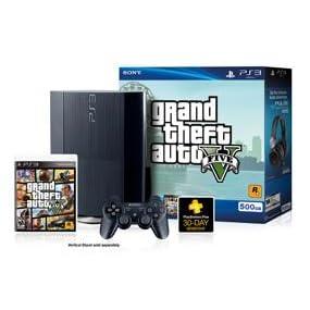 Amazon com: PS3 500 GB Grand Theft Auto V Bundle: Video Games
