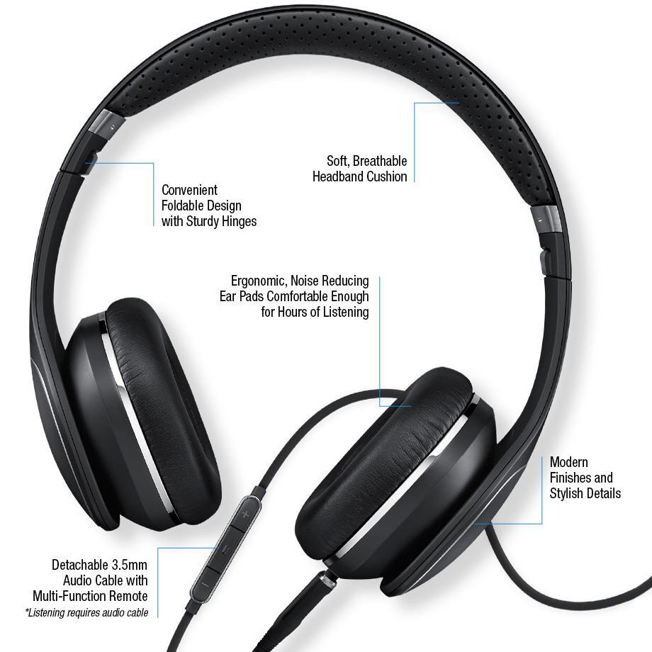 Samsung Level On Ear Headphones Retail Packaging U Original View Larger
