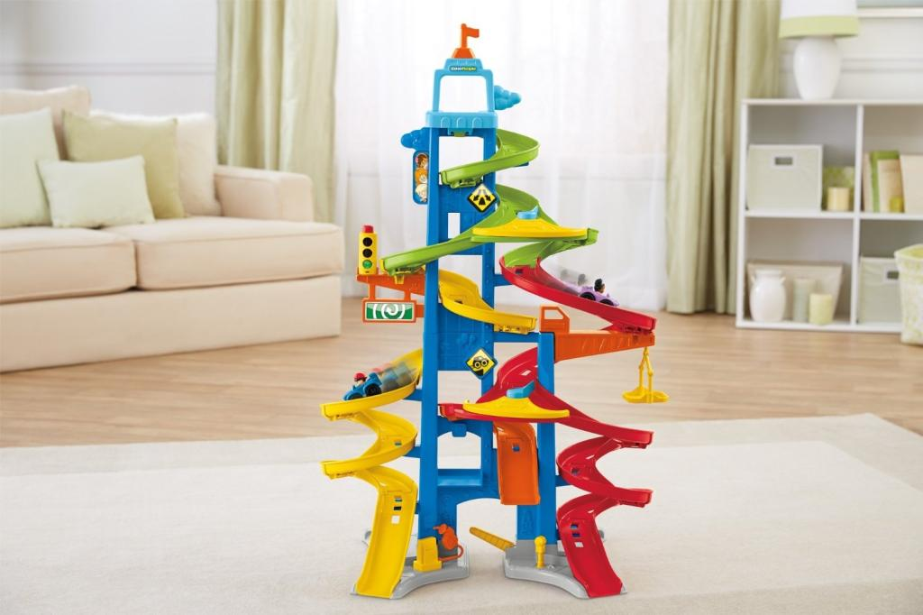Amazon Com Fisher Price Little People City Skyway Toys