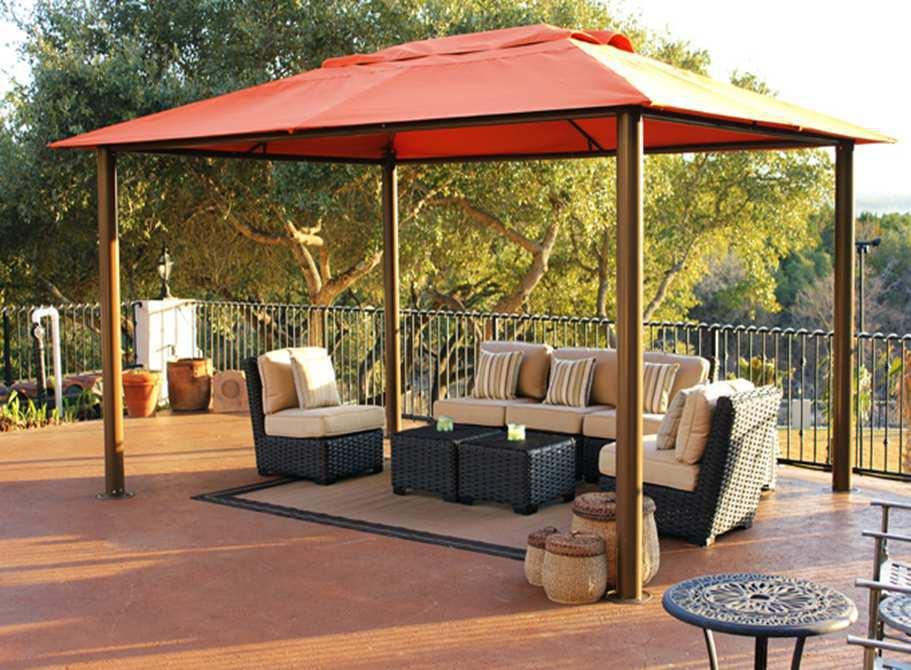 From the manufacturer & Amazon.com : Paragon-Outdoor Valencia Gazebo 11u0027 x 15u0027 Sunbrella ...