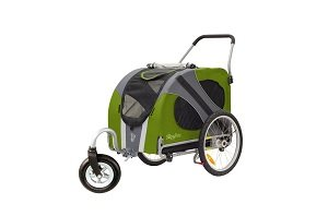 Novel dog stroller for large dogs