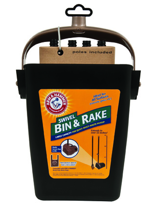 71034 Swivel Bin & Rake-FRONT POP