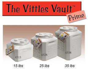vittles vault plus supplied parts container