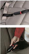 PetBuckle Kwik-Connect Tether for the Universal Travel Harness Pet Seat Belt