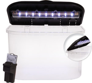 INCLUDES LED LIGHTING AND POWER FILTER