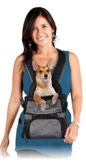 Amazon.com : Outward Hound Kyjen 2514 Front Carrier Dog Carrier ...