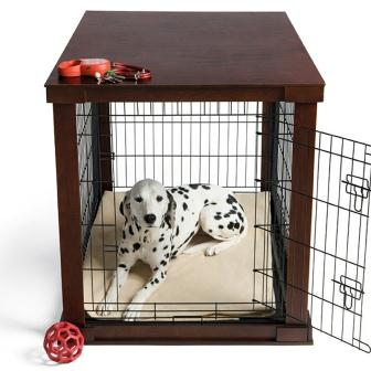Amazoncom Large Cage With Crate Cover Pet Crates