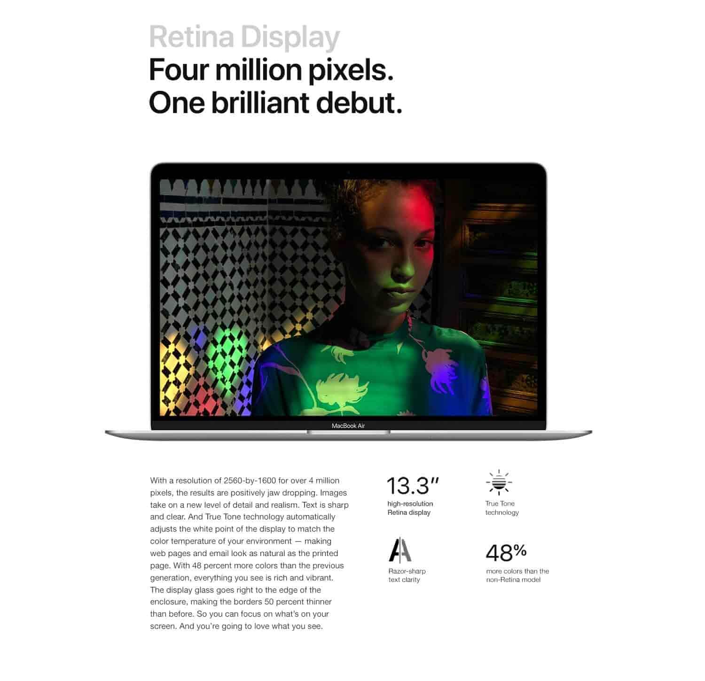 New Apple MacBook Air (13-inch, 8GB RAM, 256GB Storage) - Space Gray