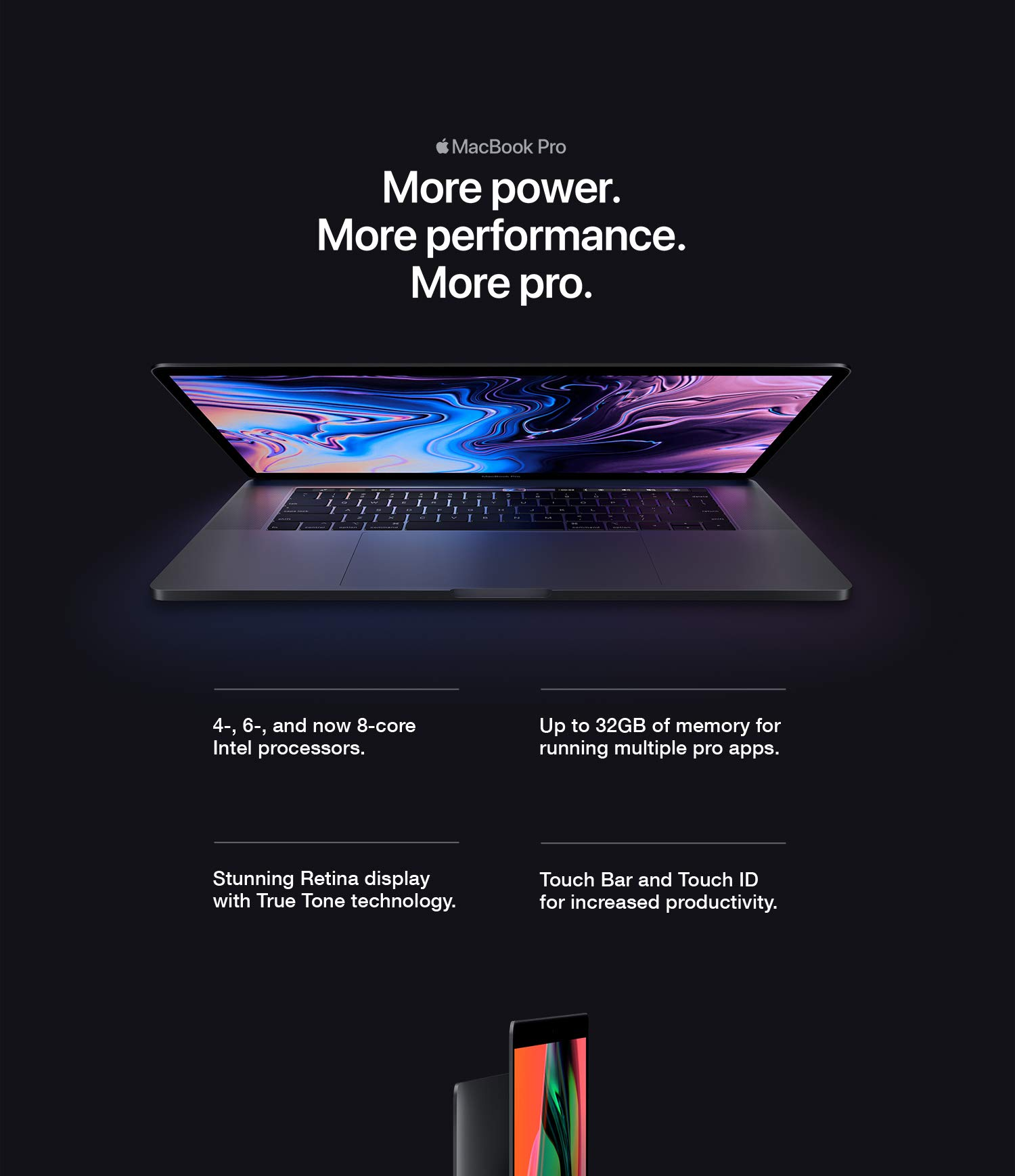 New Apple MacBook Pro (13-inch, Touch Bar, 1 4GHz quad-core Intel Core i5,  8GB RAM, 128GB) - Space Gray