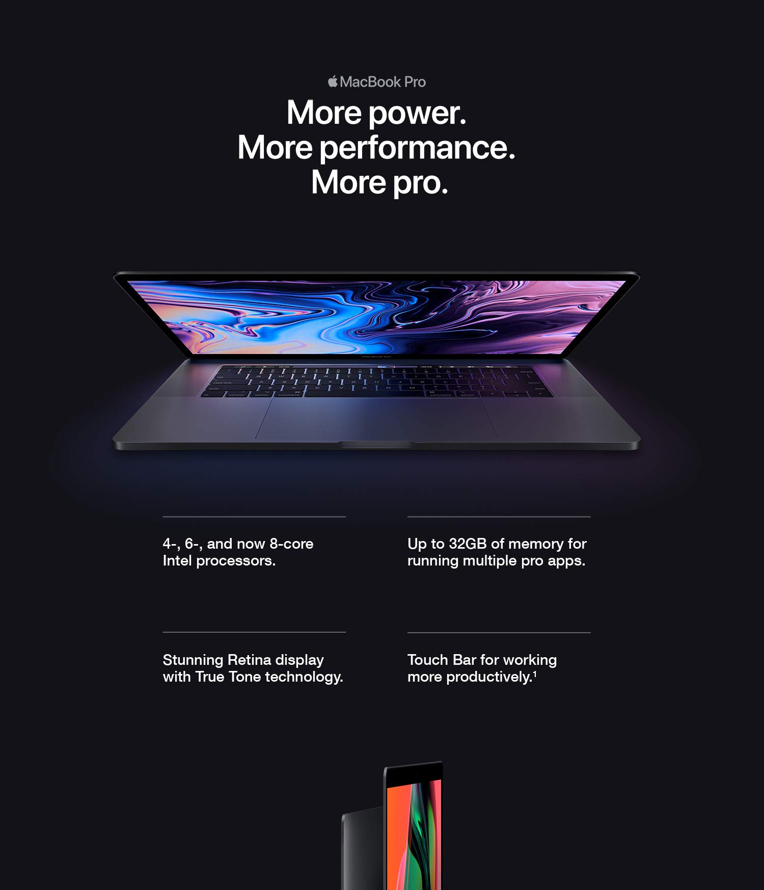 New Apple Macbook Pro 15 Inch Touch Bar 23ghz 8 Core Intel Core I9 16gb Ram 512gb Ssd Space Gray