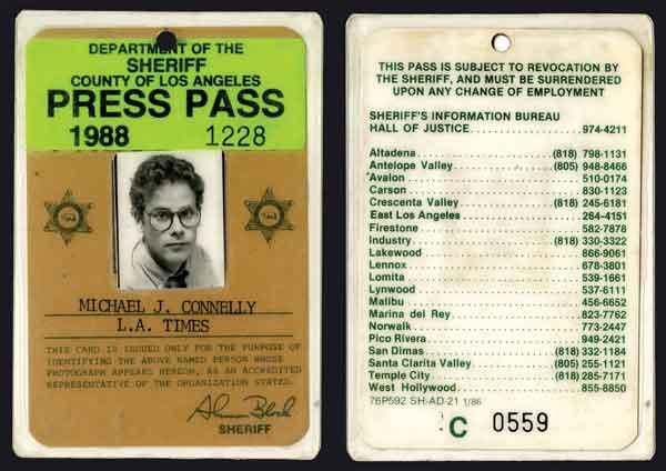 Sample press pass for Media press pass template